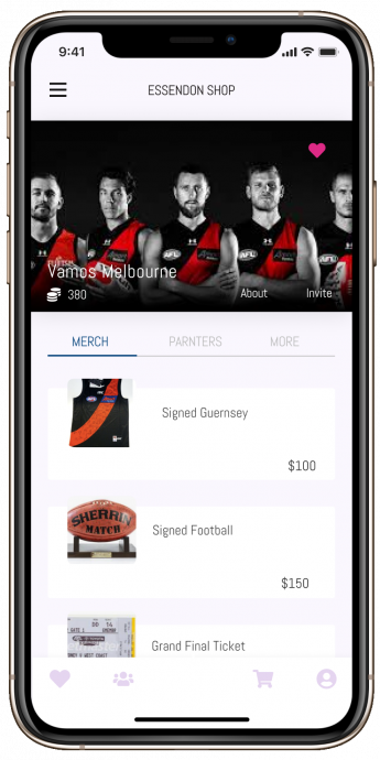 essendon shop